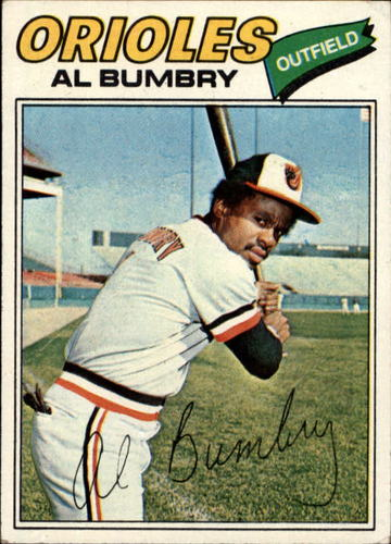 Photo of 1977 Topps #626 Al Bumbry