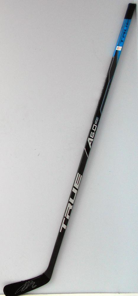 #6 AdamLarsson Game Used Stick - Autographed - Edmonton Oilers