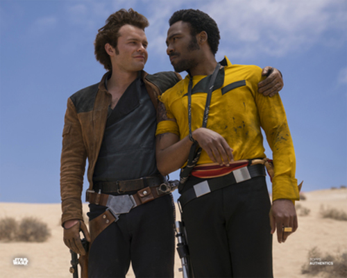 Han Solo and Lando Calrissian