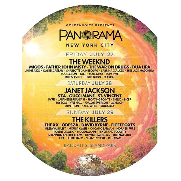 Click to view Panorama Music Festival Tickets.