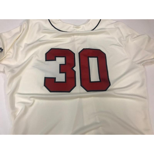 Photo of Game-Used Detroit Stars Jersey: Alex Wilson