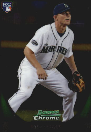 Photo of 2011 Bowman Chrome Draft #103 Kyle Seager Rookie Card
