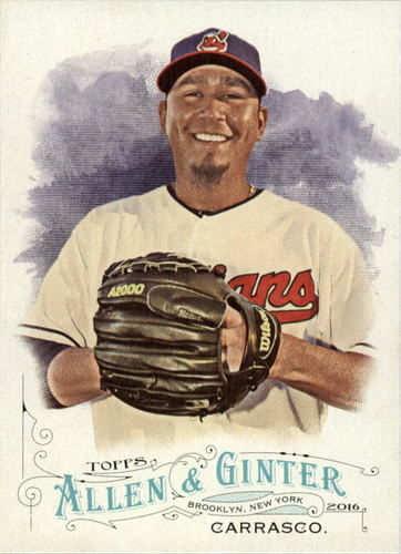Photo of 2016 Topps Allen and Ginter #261 Carlos Carrasco