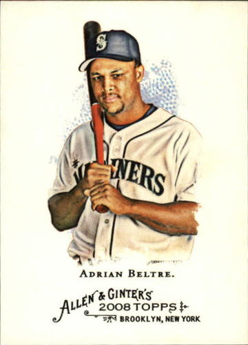 Photo of 2008 Topps Allen and Ginter #101 Adrian Beltre