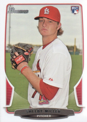 Photo of 2013 Bowman Draft #32 Shelby Miller Rookie Card