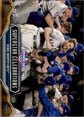 Photo of 2016 Topps Opening Day Superstar Celebrations #SC6 Daniel Murphy