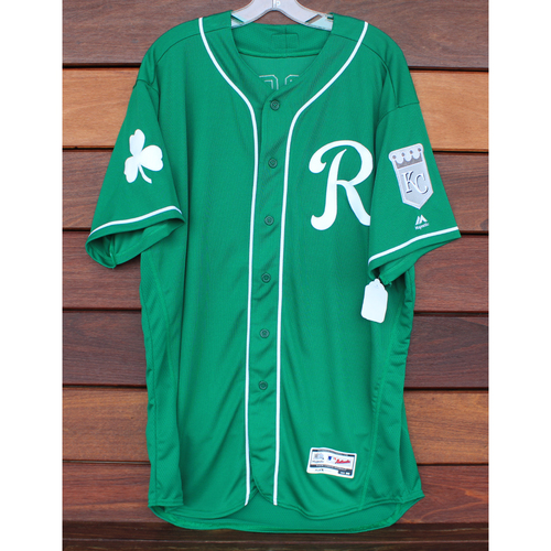 Photo of Team-Issued St. Patrick's Day Jersey: Ryan Madson (Size - 50)