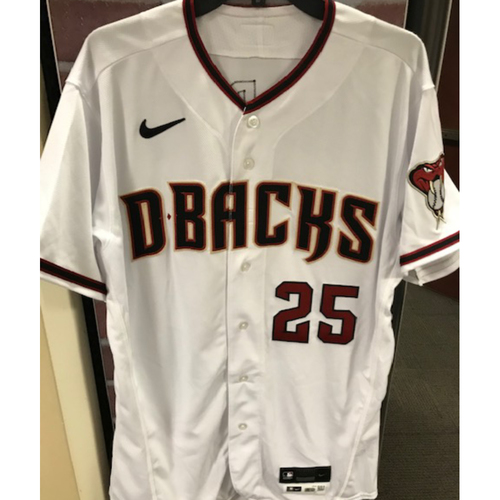 Photo of Archie Bradley 2020 Team-Issued Home Regular Jersey - Size 44