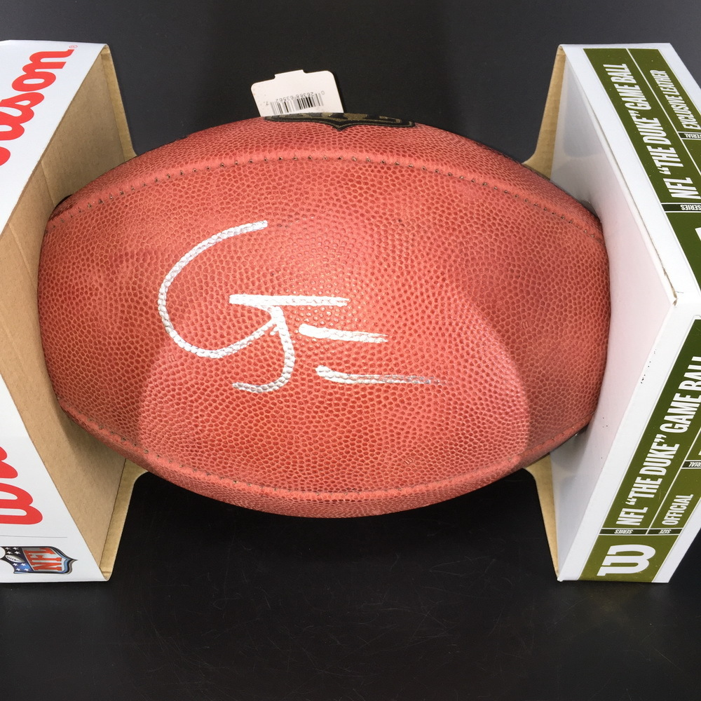 NFL - Dolphins Gary Jennings Jr. Signed Authentic Football