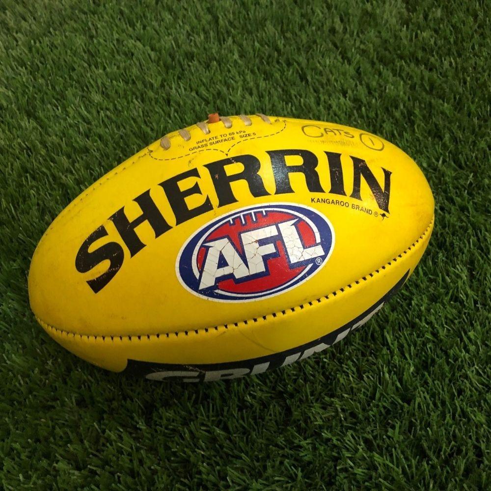 Carlton 2021 Round 17 Match Used Ball - #1