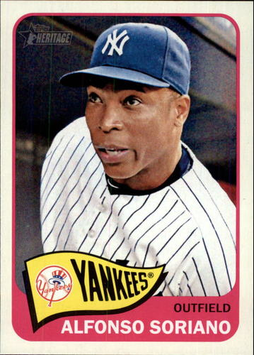 Photo of 2014 Topps Heritage #350 Alfonso Soriano
