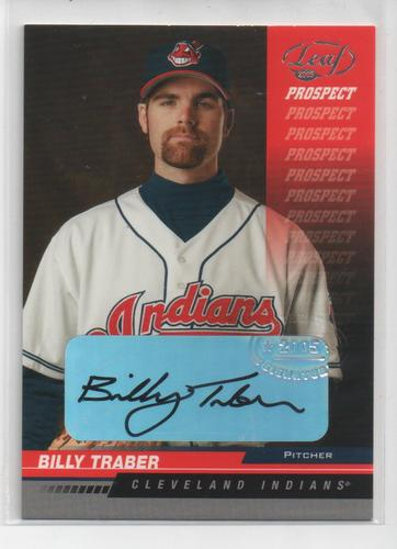 Photo of 2005 Leaf Autographs #207 Billy Traber PROS