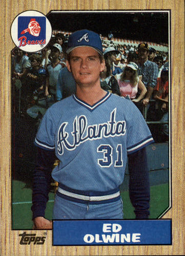 Photo of 1987 Topps #159 Ed Olwine