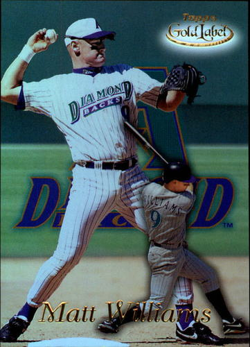 Photo of 1999 Topps Gold Label Class 1 #60 Matt Williams