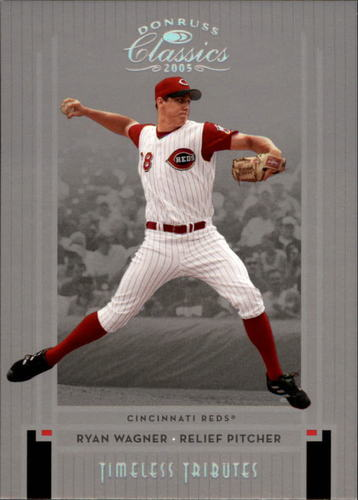 Photo of 2005 Donruss Classics Timeless Tributes Silver #65 Ryan Wagner