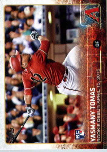 Photo of 2015 Topps Update #US145 Yasmany Tomas RD