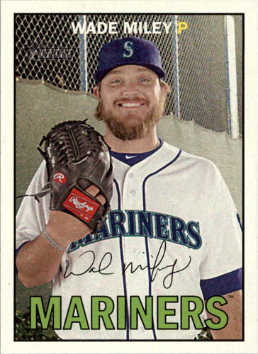 Photo of 2016 Topps Heritage #116 Wade Miley