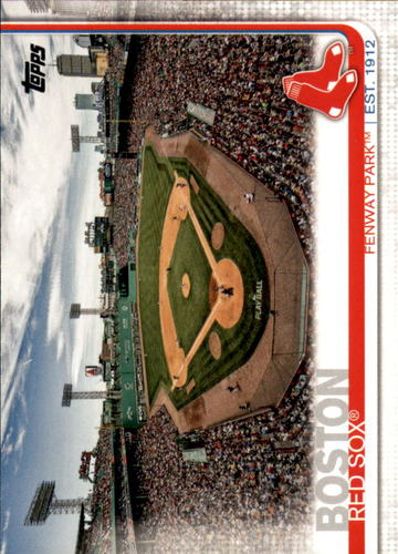 Photo of 2019 Topps #160 Fenway Park