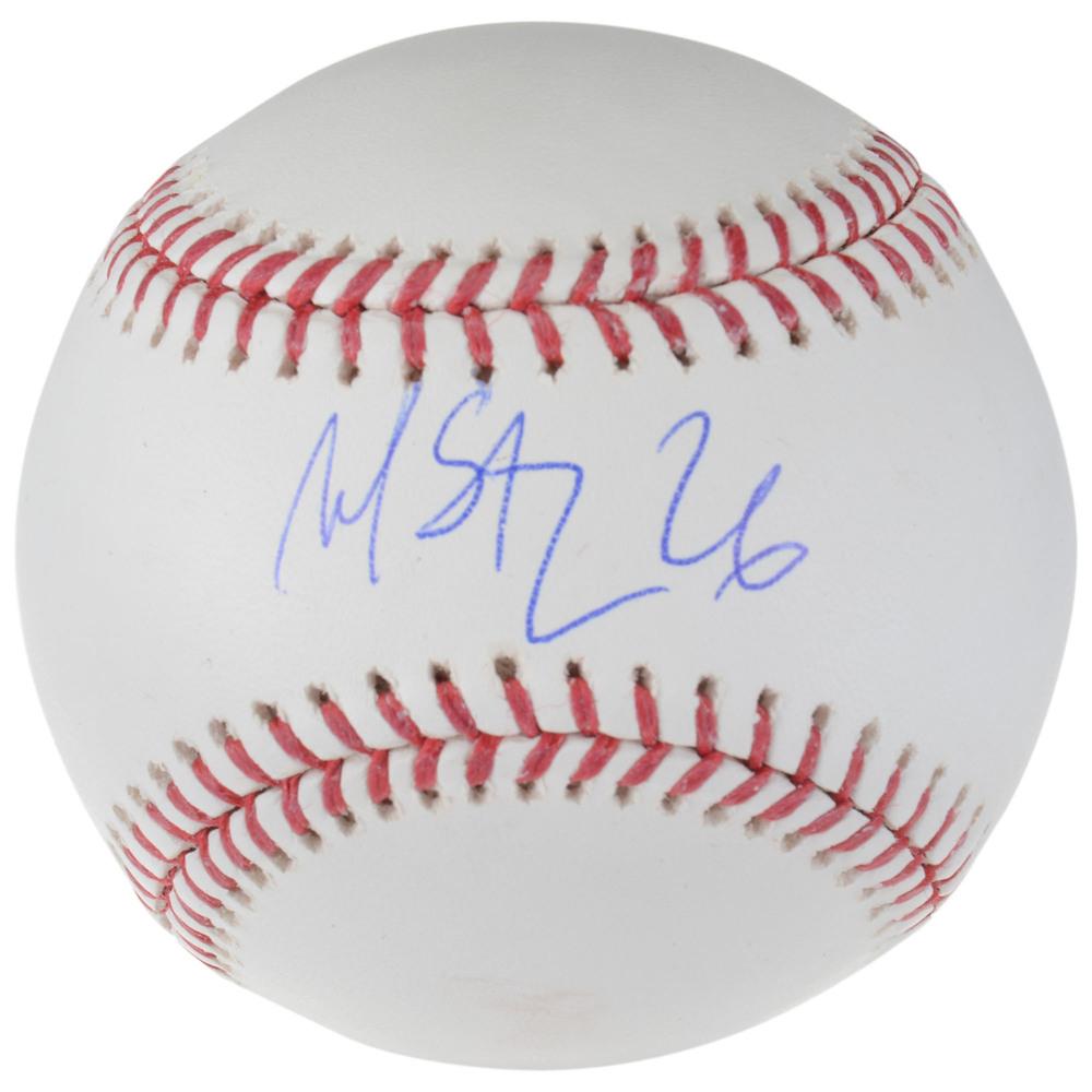 Martin St. Louis Tampa Bay Lightning Autographed Baseball