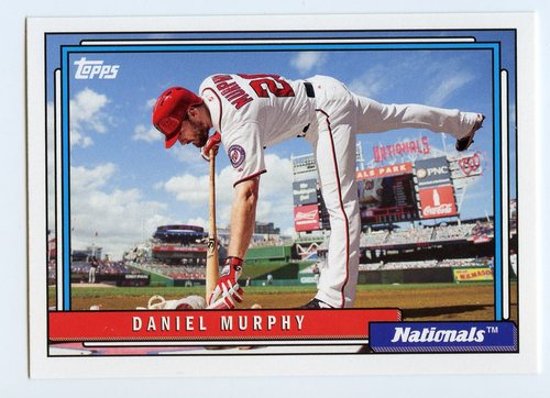 Photo of 2017 Topps Archives #266 Daniel Murphy