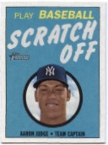 Photo of 2019 Topps Heritage '70 Topps Scratch Offs #30 Aaron Judge