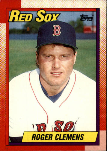 Photo of 1990 Topps #245 Roger Clemens