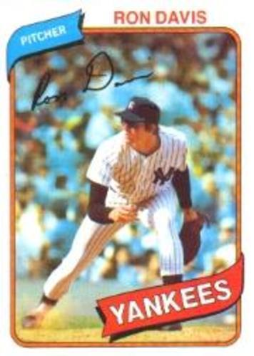 Photo of 1980 Topps #179 Ron Davis RC