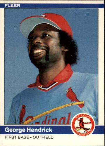 Photo of 1984 Fleer #324 George Hendrick