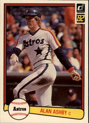 Photo of 1982 Donruss #317 Alan Ashby