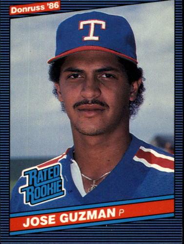 Photo of 1986 Donruss #30 Jose Guzman RC