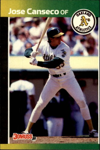 Photo of 1989 Donruss #91 Jose Canseco