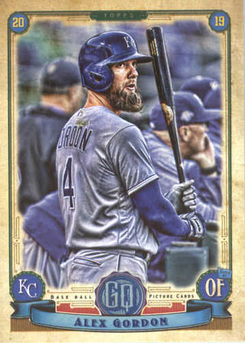 Photo of 2019 Topps Gypsy Queen #15 Alex Gordon