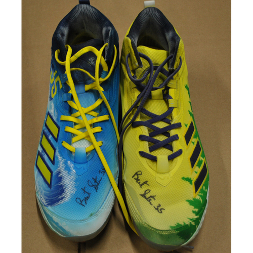 Photo of More than Baseball: Game-Used and Autographed Cleats - Miami Marlins vs. Milwaukee Brewers - 4/26/21 - Brent Suter
