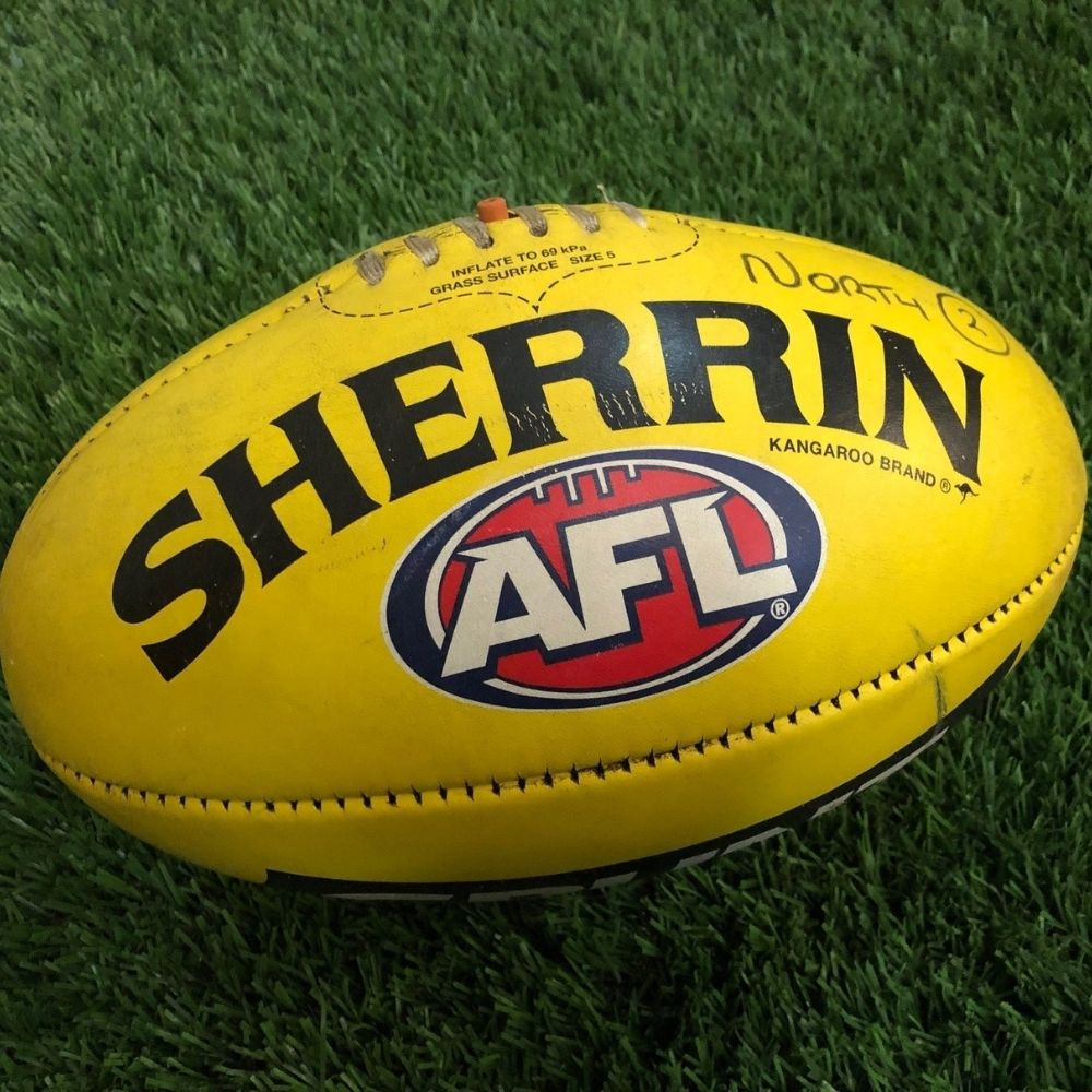 Carlton 2021 Round 19 Match Used Ball - #2