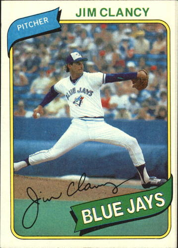 Photo of 1980 Topps #249 Jim Clancy