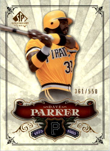 Photo of 2006 SP Legendary Cuts #165 Dave Parker