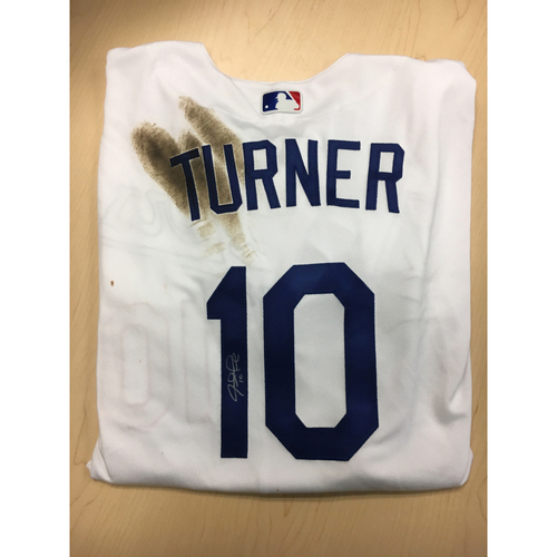 pretty nice a0c92 ebb07 MLB Auctions | LA Dodgers Foundation Auction: Justin Turner ...