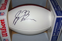 NFL - TITANS JAYON BROWN SIGNED PANEL BALL