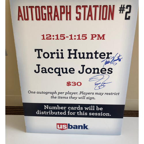 "Photo of ""Soul Patrol"" TwinsFest Autograph Station Poster"