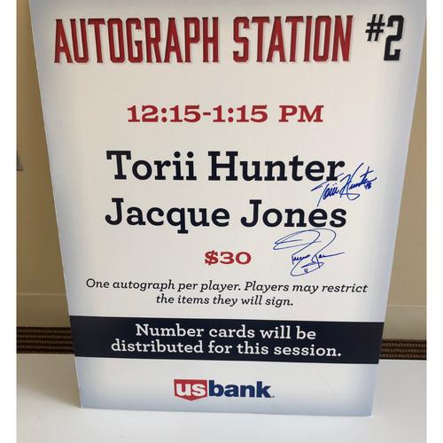 "Photo of ""Soul Patrol"" TwinsFest Autograph Station Poster"