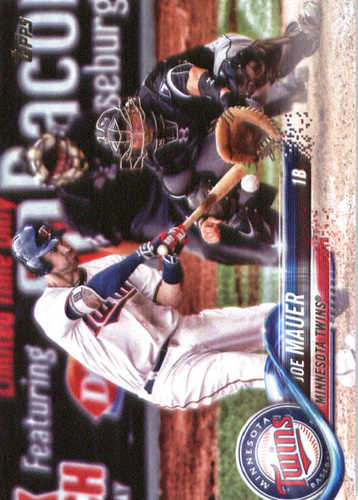Photo of 2018 Topps #231 Joe Mauer