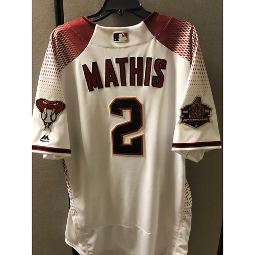 Photo of Jeff Mathis - Team-Issued  Opening Day Jersey - Size - 46
