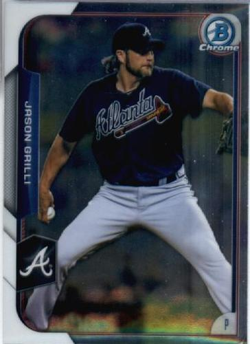 Photo of 2015 Bowman Chrome #130 Jason Grilli