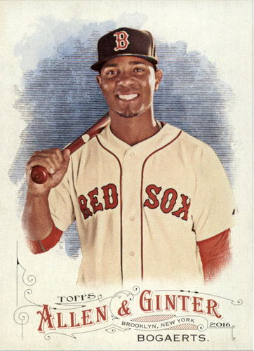 Photo of 2016 Topps Allen and Ginter #264 Xander Bogaerts