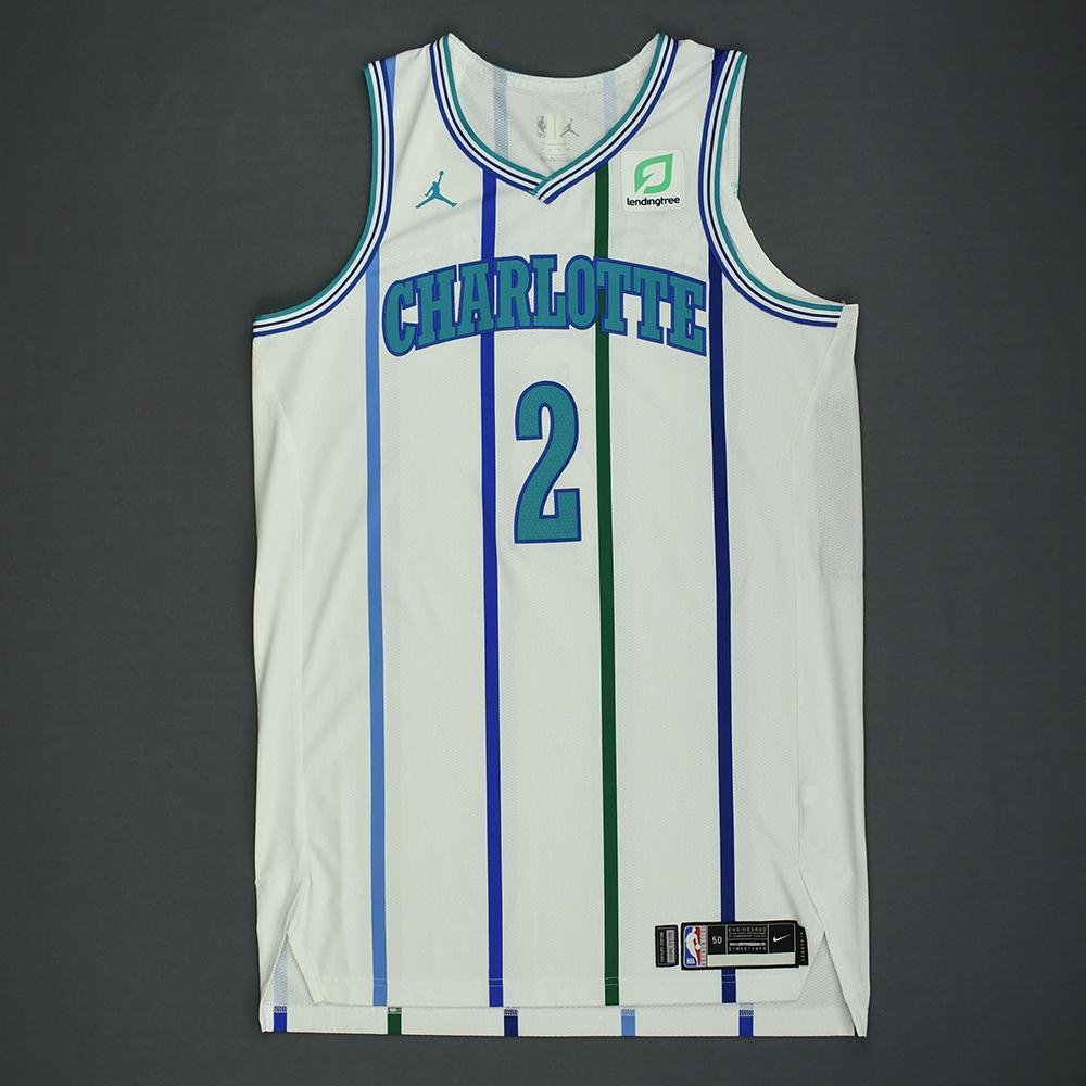 Marvin Williams - Charlotte Hornets - Kia NBA Tip-Off 2018 - Game-Worn Classic Edition '1988-97 Home' Jersey