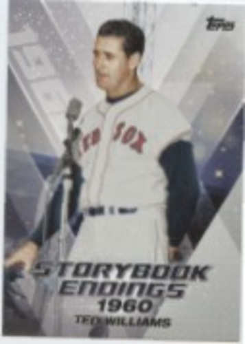 Photo of 2018 Topps Update Storybook Endings #SE4 Ted Williams