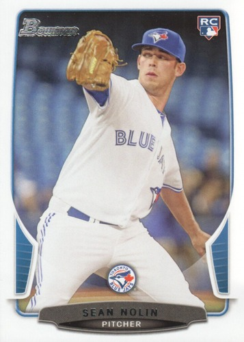 Photo of 2013 Bowman Draft #33 Sean Nolin RC