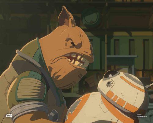 Teroj Kee and BB-8