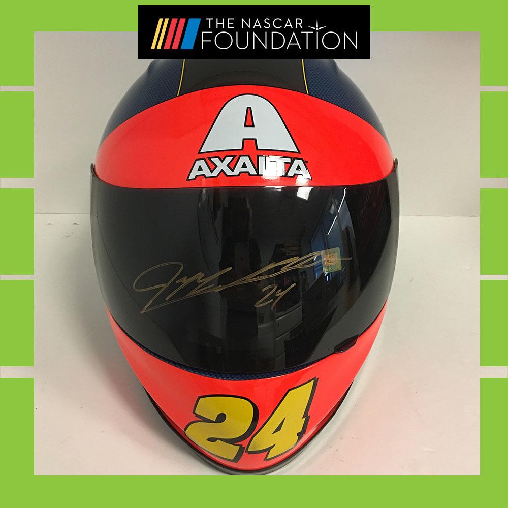 NASCAR's Jeff Gordon Autographed Replica Helmet!