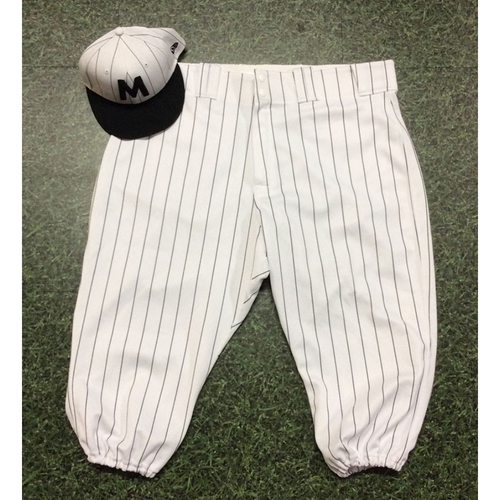 Photo of Matt Albers 2019 Authenticated Milwaukee Bears Uniform (Game-Used Cap & Team-Issued Pants)